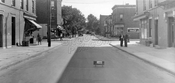 Linwood Street between Pitkin and Belmont Avenues, facing south, 1939