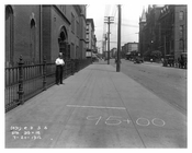 Looking down Bushwick Avenue to Ten Eyck Street - Williamsburg - Brooklyn, NY 1916