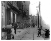 Looking down Metropolitan to Lorimer - Williamsburg Brooklyn, NY 1916