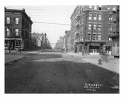 Looking down North 7th at the intersection of Driggs Ave - Williamsburg - Brooklyn, NY  1921