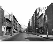 Looking north on Hicks Street from Kane Street 1941