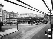Looking north to Flatbush Avenue and Cortelyou Road, 1926