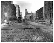 Looking North up 7th Avenue between 36th & 37th Streets March 20 1916 Chelsea, Manhattan