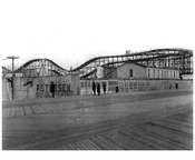 Looking Northeast from the boardwalk  at W. 11th Street 1922