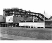 looking Northwest from Boardwalk around W. 8th St.  1922
