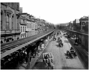 Looking south on The Bowery near Grand Street 1887
