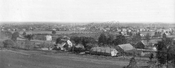 Looking southeast from behind Schenck Homestead toward Jamaica Avenue and East New York, 1887