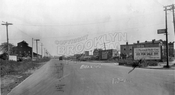 Looking southeast on Remsen Avenue from East New York Avenue, 1928