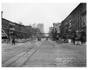 Looking up 7th Avenue between 19th & 20th Streets November 4th 1915