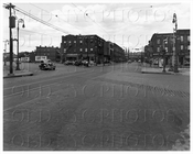 Lorimer St at Harrison & Union Ave long shot 1944