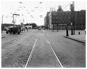 Lorimer St looking south west at Harrison Ave & Union Ave 1944