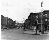Lorimer St north from Union Ave 1944