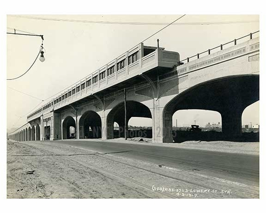 Lowery Street Station 1917  - Astoria - Queens, NY