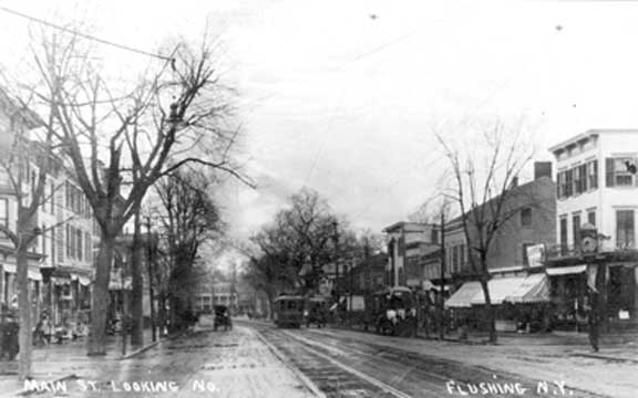 Main Street lokking North - 1890s