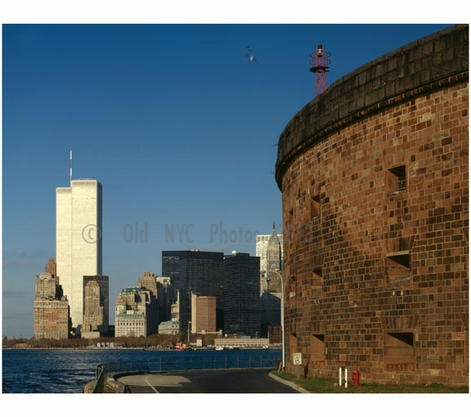 Manhattan as seen from Governors Island