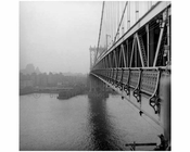 Manhattan Bridge  1960 Brooklyn, NY