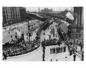 Manhattan Bridge  - New roadway opening 1931 - Brooklyn, NY