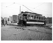 Manhattan Bridge trolley line - Nassau Street & Flatbush Ave Ext. 1914