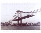 Manhattan Bridge View From Manhattan side 1909
