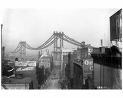 Manhattan Bridge view North west from Washington Street Brooklyn, NY 1908