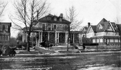 Mansions along Highland Boulevard, 1921