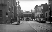 Marcy Avenue looking from South Street to Broadway, 1951