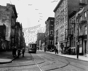 Marcy Avenue south from Grand Street to South 1st Street, 1950