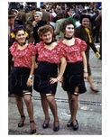 Mardi Gra Girls New Orleans 1942