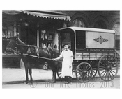 Market Delivery Wagon - W. 45th Street