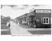Market Street Breezy Point Rockaway Shopping Center 1940s