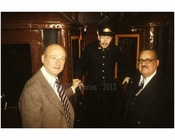 Mayor Ed Koch at Subway event 1980