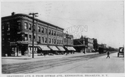 McDonald Avenue looking south from Ditmas Avenue, c.1912