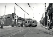 Metroploitan Ave & LIRR crossing 1949