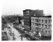 Metropolitan Ave west from Lorimer Street - Williamsburg - Brooklyn, NY 1917