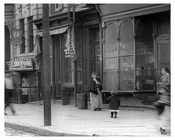 Mother & Child on Metropolitan & Lorimer Street - Williamsburg - Brooklyn, NY 1916