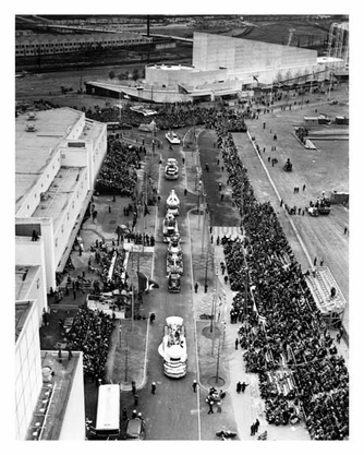 Motorcade at the Worlds Fair 1938 - Flushing - Queens - NYC