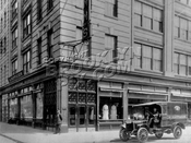 Namm's Department Store at northeast corner of Court and Livingston Streets, 1916