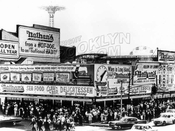 Nathan's Famous, Surf and Stillwell Avenues, c.1964