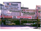 Nathans Famous Hotdogs at Coney Island