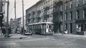 Navy Street looking north from Willoughby Street, c.1942