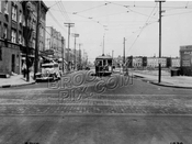 New Lots Avenue looking east from Rockaway Avenue to Thatford Avenue, 1936