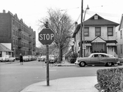 New York Avenue looking south at Avenue I, c.1961