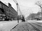 Ninth Street looking northwest from 5th to 4th Avenue, 1918