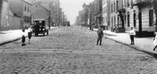 North 7th Street looking northwest from Driggs Avenue, 1923