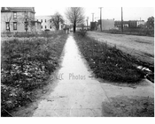 North sidewalk of Ave T looking east from West 5th Street -  1922