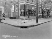 Northwest corner of Belmont Avenue and Essex Street, 1939