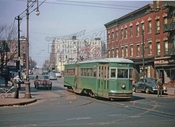 Nostrand Avenue looking north from Empire Boulevard, 1947