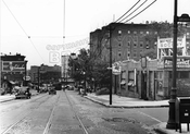 Nostrand Avenue, looking south from Montgomery Street, 1946