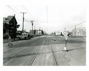 Nostrand Avenue, north from Quentin Road  1940's