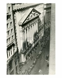 NYC Stock Exchange 1934 Downtown Manhattan